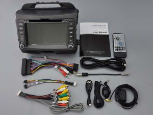 Automobile 2010-2013 di Witson KIA Sportage DVD GPS 1080P
