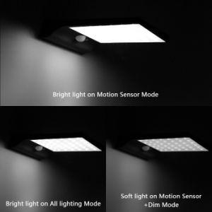 luz solar psta solar do diodo emissor de luz da lâmpada 450lm solar ao ar livre