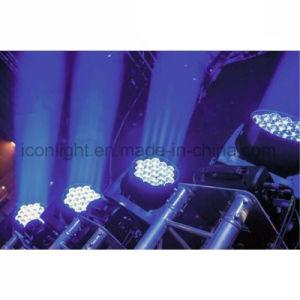 19X15W RGBW Pixel Zoom Настенный светодиодный индикатор омывателя перемещение головки блока цилиндров