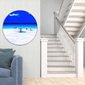 Pittura europea della tela di canapa di arte della parete di vista sul mare per la decorazione