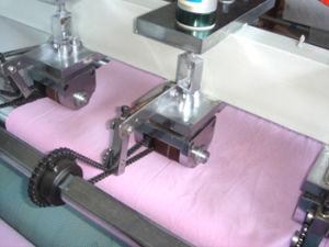 Machine de refendage à ultrasons pour le tissu de polyester (CE)