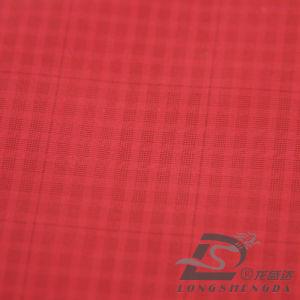 50d 290t Tecidos Jacquard 100% poliéster Pongées Fabric (53256BLQ)