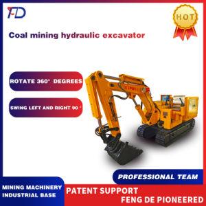 Добыча угля Гидравлический гусеничный экскаватор подходит для угольной шахты по разминированию и минной опасности Non-Metal металла