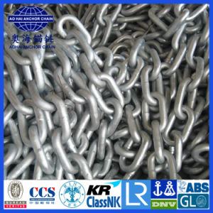 CCS/ABS/Certificado BV Studless Link de la cadena de ancla