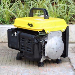 バイソン小さいMOQ Air-Cooled小型携帯用ガソリン750watt発電機