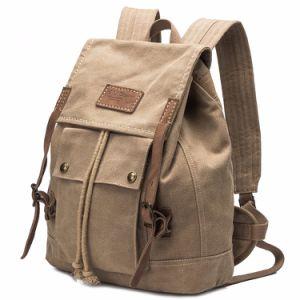 Mode voyageant sac à dos en toile résistante personnalisé