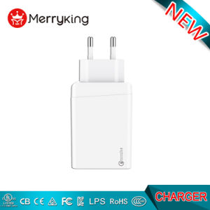 EU/USA Stop 3 Snel het Laden van Qualcomm QC3.0 van de Haven USB Type C van de Muur de Mobiele Lader van de Muur van de Telefoon