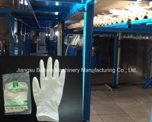 Máquina para produção de luva de látex luva de látex da linha de produção