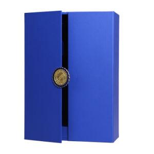 El papel de la clase alta Packagingbox, caja de vino de regalo