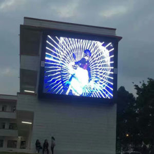 옥외 벽은 유형 고해상 P6 LED 모듈 스크린 도달했다