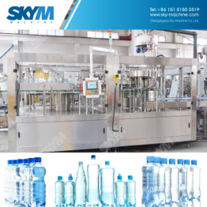 안정되어 있는 구조 자동적인 병에 넣은 물 기계