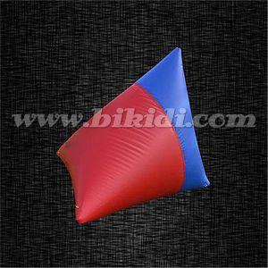 Grande carbonile gonfiabile di Paintball di figura di Doritos per uso commerciale K8097