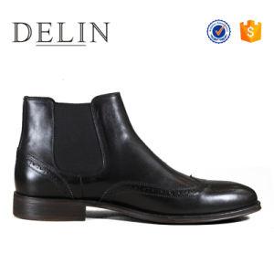 2018新しい靴は人の服の靴革の人の着く