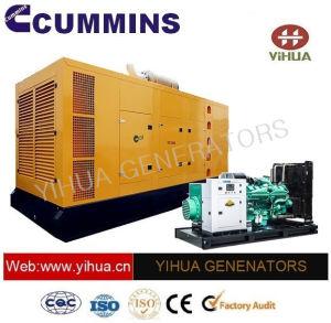 Cummins Engineのセリウムの承認[IC180301o]の27.5kVA防音のディーゼル発電機