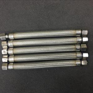 Tubo flessibile Braided del metallo con il montaggio del NPT Bsp