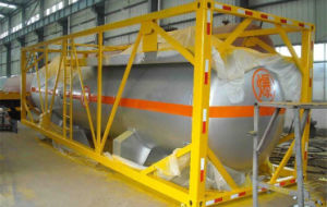 Contenitore del serbatoio del semirimorchio del combustibile degli assi 24cbm del fornitore 3 della Cina