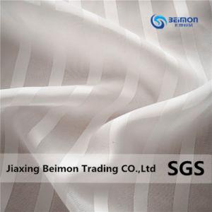 Belle Stripe mousseline de soie Jacquard, 100%Polyester
