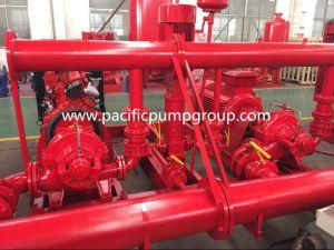 Il rifornimento della fabbrica, l'UL 500gpm ha elencato l'insieme della pompa antincendio, insieme spaccato della pompa antincendio di caso