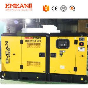 Cummins Engineが付いているEmeanの工場100kVA 80kw無声ディーゼル発電機
