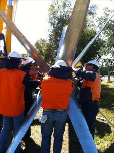 generatore di turbina verticale del vento di su-Griglia di asse 5kw