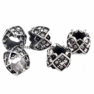 Constatations En acier inoxydable Big Hole Perles d'écartement