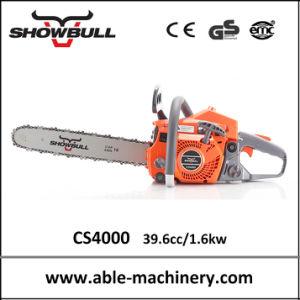 Máquina cortadora de madera de sierra de cadena motosierra 4000