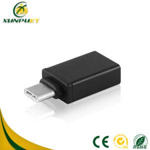 De aangepaste Bestuurder van de Convertor USB van de Adapter van de Stop van het Embleem type-C