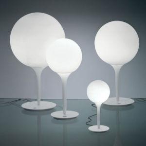 Weiße Ballon-Tabellen-Lampen-einfache Italien-Art-Lampe