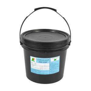 El grabado curables UV resistir a la tinta azul para la solución de grabado ácido