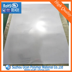1220*2440 mm Feuille en PVC transparent avec 2PE Film de protection