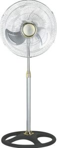 18 '' industrielles Fan mit Silver Pole