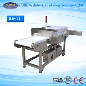 El sistema de HACCP y grado de la FDA cinta transportadora de alimentos Tipo de detector de metales