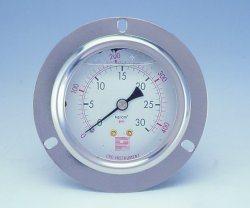 ステンレス鋼の圧力計(P200)