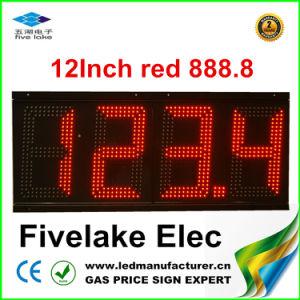 Affichage LED 12 pour station de gaz le pylône (TT30SF-3R-rouge)