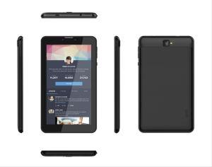 Preto/Azul Tablet PC com Android5.1 SO, Dual-Camera, dual-Cartão SIM