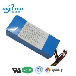 18650 pacchetto della batteria di litio di 12V 8400mAh per la batteria chiara solare