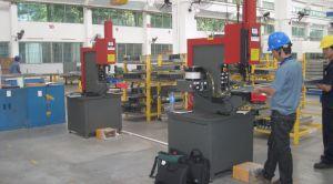 Máquina de inserção do prendedor de metal (618 modelo com manual e automático)