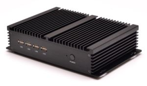 Nic dual resistente de pequeño formato mini ITX Fanless PC i5-3317Barebone u