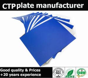 Gran Desarrollo de la tolerancia de la placa de la CTP de tinta UV Resisited