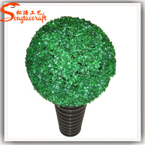 Mais barata de plástico grosso Topiary Buxo Artificial Fábrica de Árvore