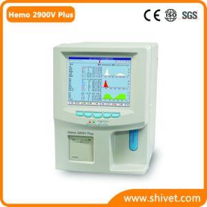 3-Diff自動獣医の血液学の検光子(Hemo 2900Vと)