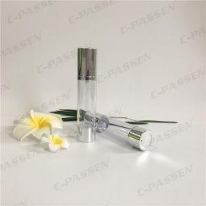 50ml frasco de loción Siliver envases de plástico con bomba Airless (PPC-ASAB-041)