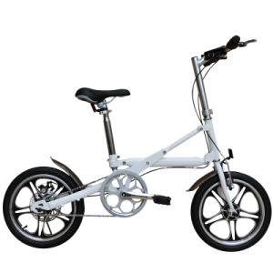 16  합금 두 배 접히는 프레임 접히는 자전거