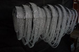 El lujo de la cadena de proyecto decorativo Custom-Made araña de cristal (KA11611)