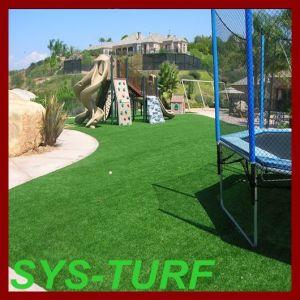 Het Gras van het Gras van Syntheic voor de Speelplaats van Kinderen