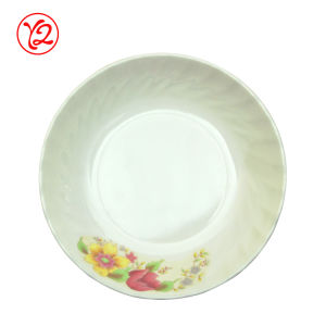 Classe superior cerâmica como placas do Oval da louça de Arcfresh do restaurante
