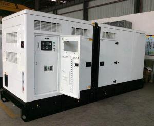 generatore diesel insonorizzato del motore BRITANNICO standby di tasso di 250kVA 200kw
