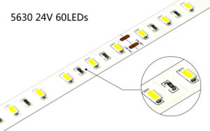 UN PWB CRI90 SMD LED Strip Lighting di 5730 12mm