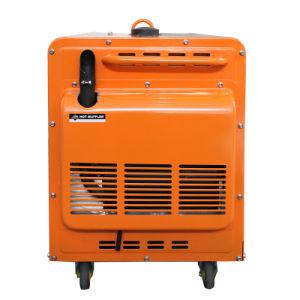 공기에 의하여 냉각되는 침묵하는 단 하나 실린더 디젤 엔진 발전기 세트