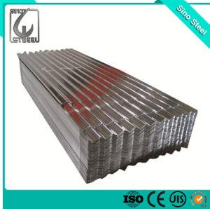 Dx51d Material de acero galvanizado en caliente de la hoja de techos de cartón ondulado